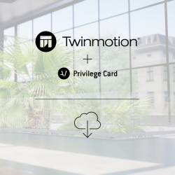 Twinmotion 2018 + Privilege Card for 2 years