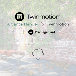 Twinmotion 2018 migration from Artlantis Render with Twinmotion Privilege Card