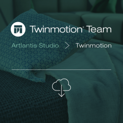 Twinmotion 2019 TEAM migration from Artlantis Studio key-server or single -- per network seat