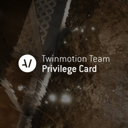 Twinmotion Team Privilege Card 2019