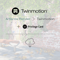 Twinmotion 2019 migration from Artlantis Render with Twinmotion Privilege Card