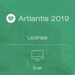 Artlantis 2019 full single license
