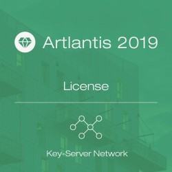 Artlantis 2019 Key-Server Network license per seat
