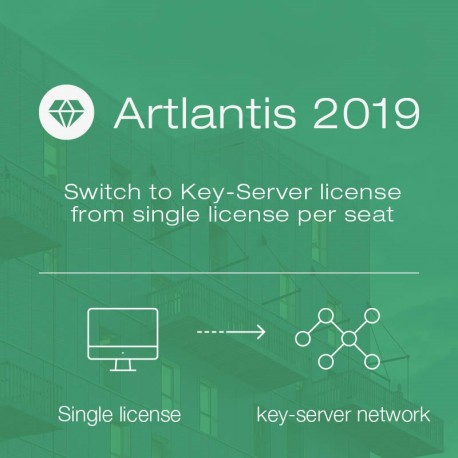 Switch to Key-Server license from single license per seat