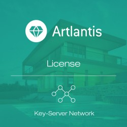 Artlantis 2020 Key-Server Network license per seat