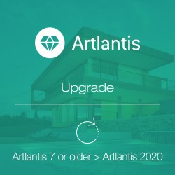 Artlantis 2020 upgrade from Artlantis v7 or older