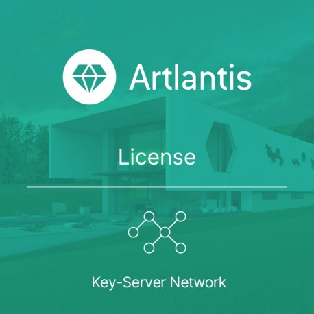 Artlantis 2021 Key-Server Network license per seat